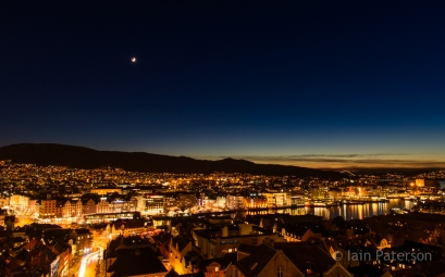 Bergen nightscape